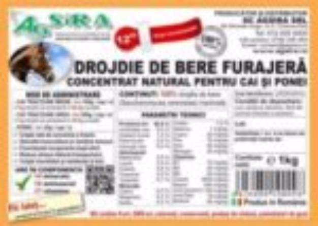 DROJDIE DE BERE FURAJERA CONCENTRAT NATURAL PENTRU CAI SI PONEI